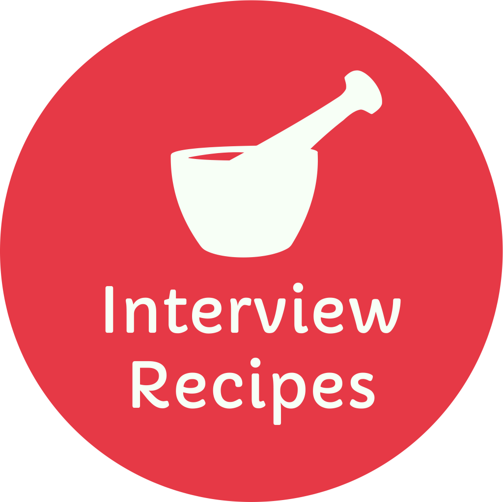 Interview Recipes © Logo